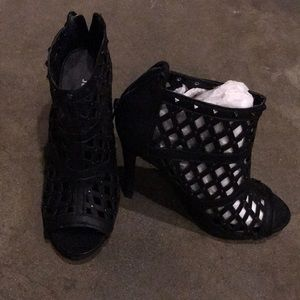 Open Toe Ankle Boots Brand New